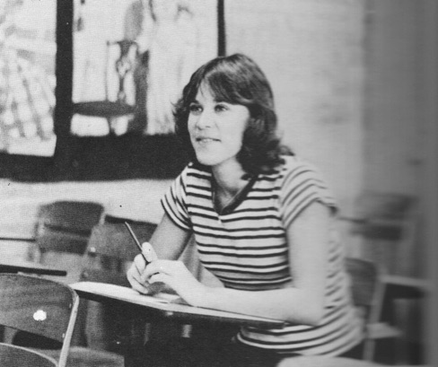 Julie Goehring from a 1977 Yearbook.